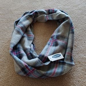 NWT Old Navy Infinity Winter Plaid Scarf